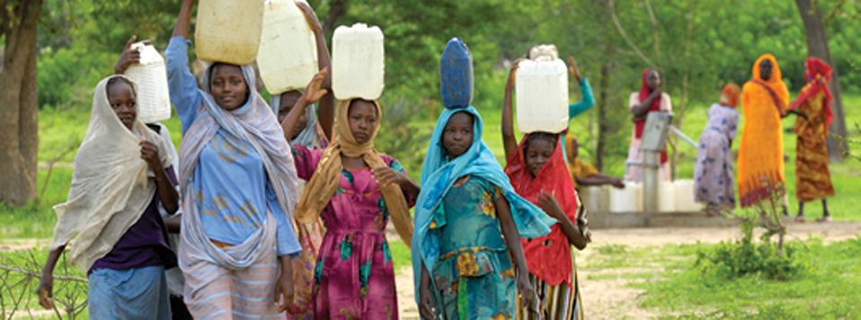 <b>Water</b> - Around the world, many women spend their entire day seeking out water.  Your donations through CROP, allow CWS to build sand dams, water is more readily available and women have time to focus on education, gardening, and other means of improving their lives.